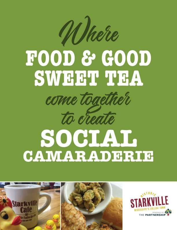 Where food and good sweet tea come together to create social camaraderie