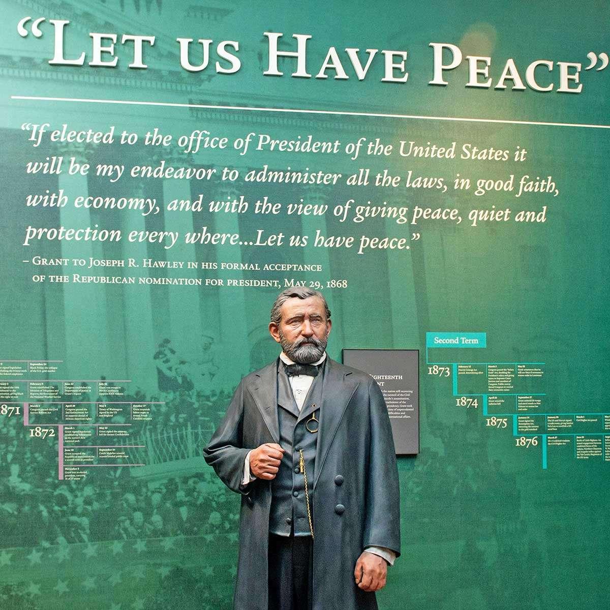 Ulysses S. Grant Presidential Library Museum  at Mississippi State University, Starkville, MS