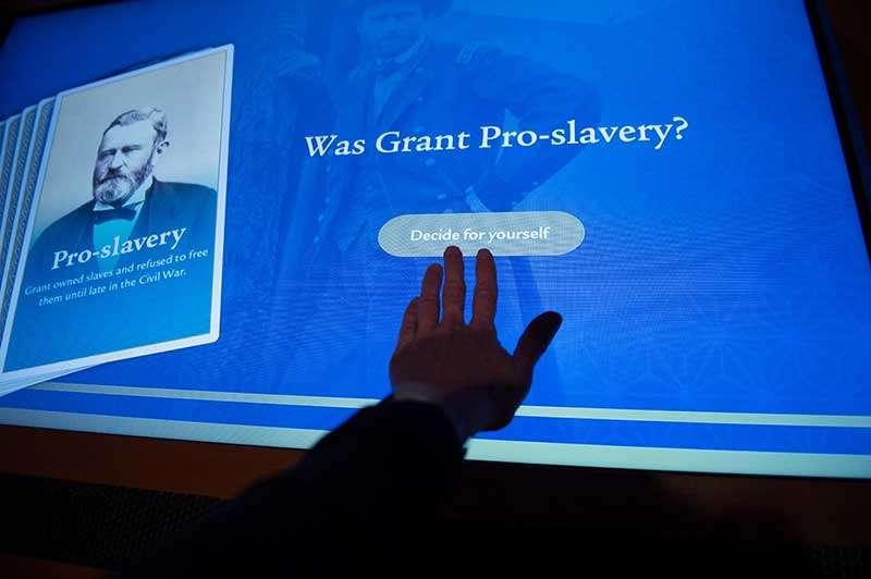 Grant Presidential Library Interactive Exhibit