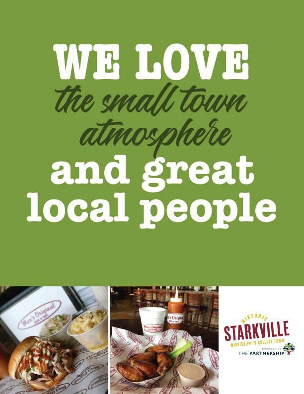 We love the small town atmosphere and great local people
