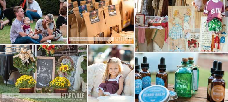 Starkville, Mississippi Night Market Event