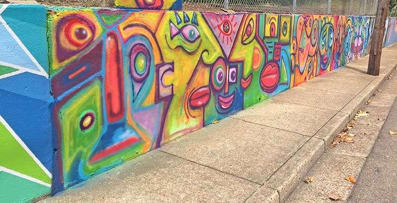 Starkville Wall Mural