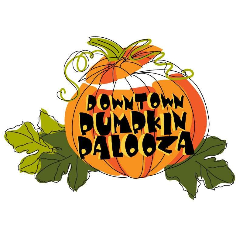 Downtown Pumpkinpalooza logo
